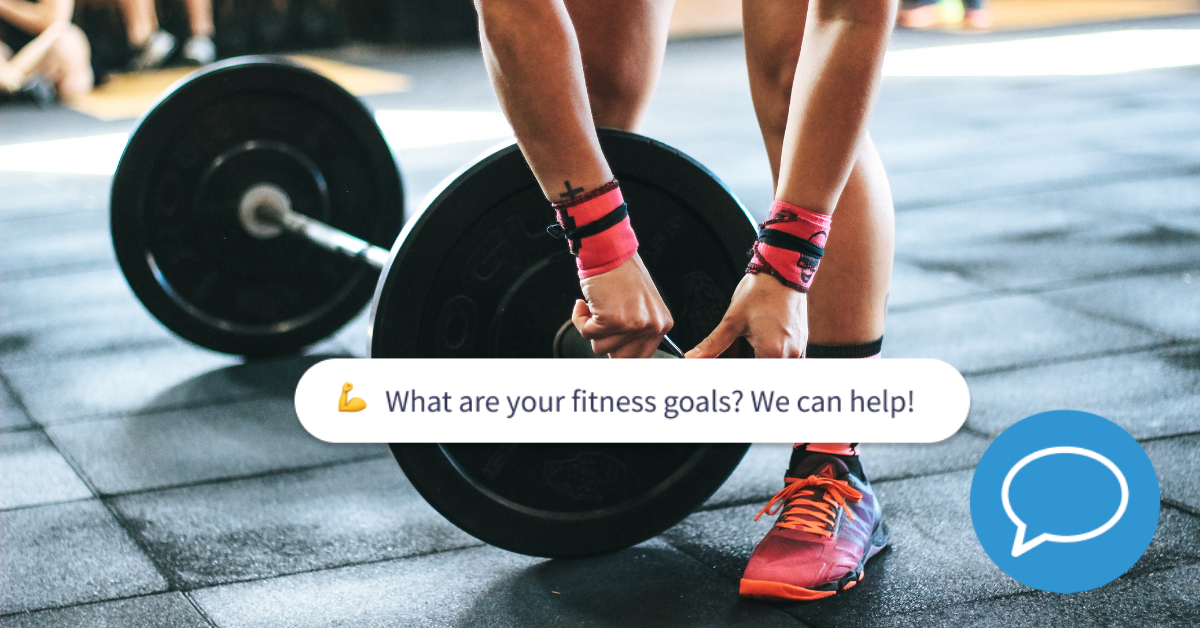 gym and fitness chatbot