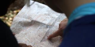 travel agent planning trip